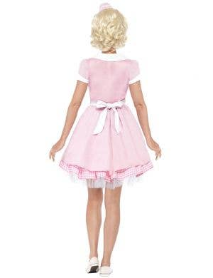 1950's Pink Diner Girl Women's Costume