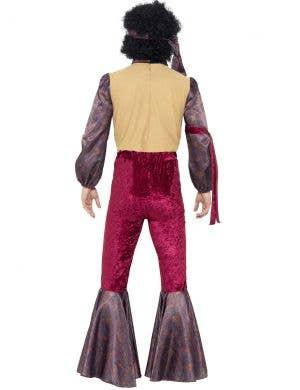 Psychedelic 70's Rocker Men's Costume