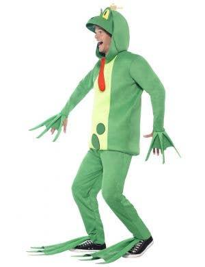 Fairy Tale Green Frog Prince Book Week Costume