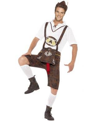 Brad Wurst Men's Hilarious Novelty Oktoberfest Costume