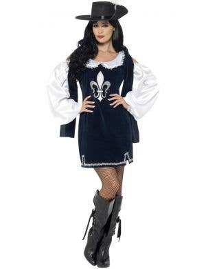 Musketeer Women's Sexy French Fancy Dress Costume