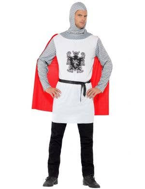 Noble Knight Men's Medieval Fancy Dress Costume