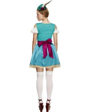 Bavarian Beer Girl Deluxe Women's Dirndl Costume