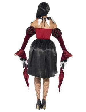 Gothic Venetian Harlequin Women's Halloween Costume