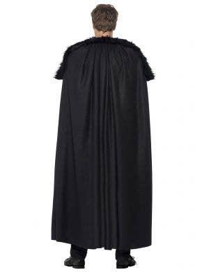 Dark Barbarian Men's Black Medieval Costume
