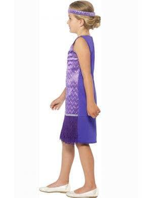 Tallulah 1920's Purple Flapper Girls Costume
