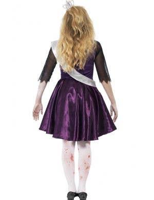Undead Prom Queen Teen Girls Zombie Costume