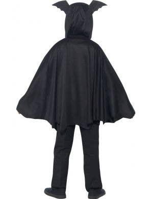 Vampire Bat Kids Hooded Halloween Costume Cape