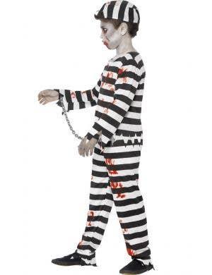 Zombie Convict Boys Halloween Costume
