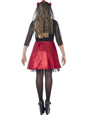 Day of the Dead Diva Teen Girls Costume