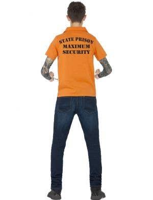 Orange Convict Instant Costume Kit For Teens