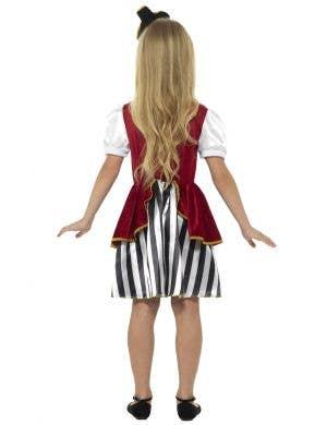 Pirate Girl's Deluxe Fancy Dress Costume