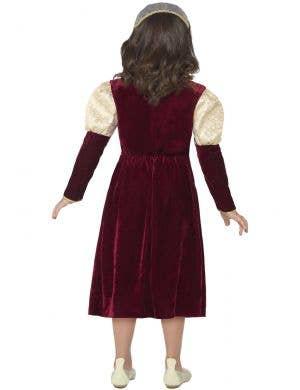 Tudor Damsel Princess Girls Fancy Dress Costume
