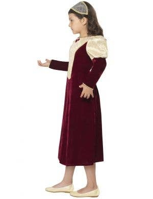 Tudor Damsel Princess Girls Fancy Dress Costume