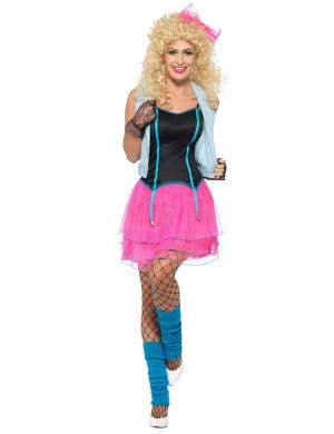 Wild Girl Women's 1980's Fancy Dress Costume