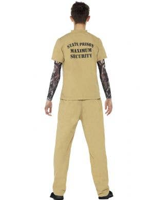 High Security Prisoner Teen Boys Costume