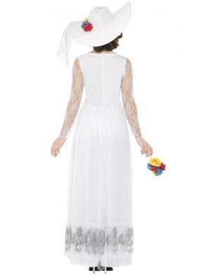 Day Of The Dead Skeleton Bride Women's White Costume