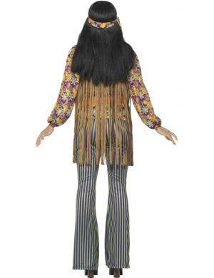 Hippie 1960's Singer Women's Fancy Dress Costume