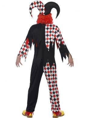 Crazed Jester Men's Halloween Fancy Dress Costume