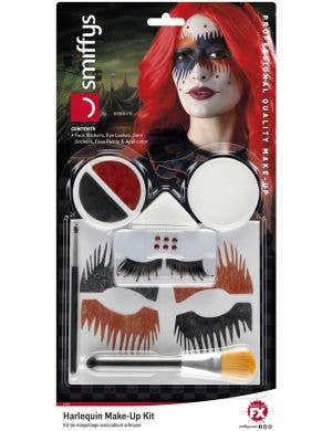 Harlequin Halloween Makeup Kit