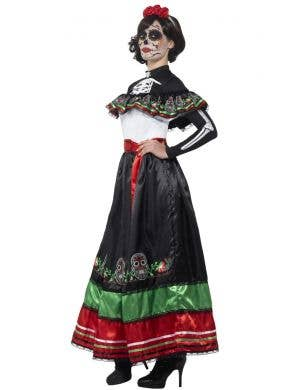 Day Of The Dead Authentic Senorita Costume