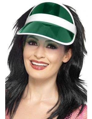 80's Green Poker Costume Hat