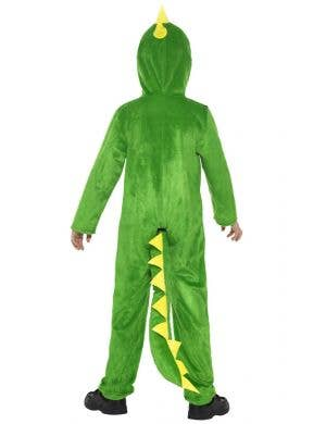 Cool Green Crocodile Kids Onesie Costume