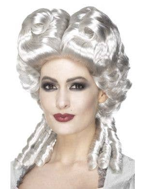 Marie Antoinette White Pouf Costume Wig