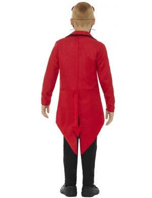 Deluxe Day of the Dead Boy's Red Devil Halloween Costume