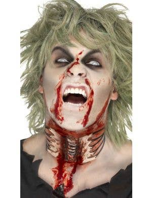 Zombie Exposed Throat Wound Special Effects Accessory