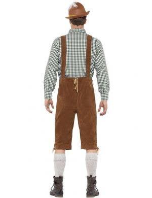 Traditional Deluxe Hanz Men's Oktoberfest Lederhosen Costume
