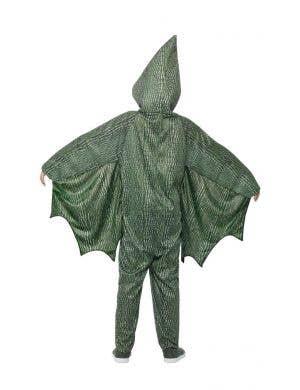 Pterodactyl Kids Green Dinosaur Onesie Costume