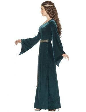 Pretty Medieval Maid Women's Fancy Dress Costume