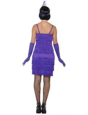 Glitzy Flapper Women's Purple 1920's Costume