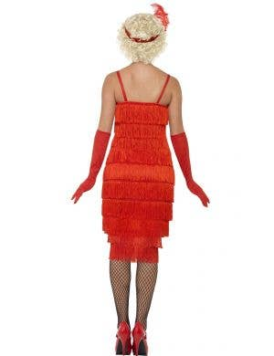 Razzle Dazzle Women's 1920's Long Red Flapper Costume