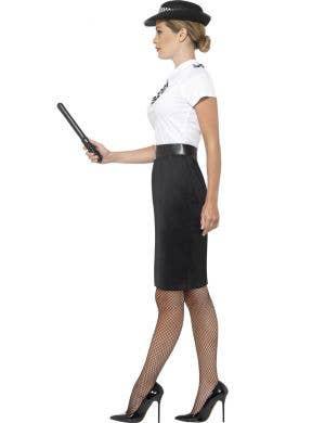 British Police Officer Women's Cop Costume