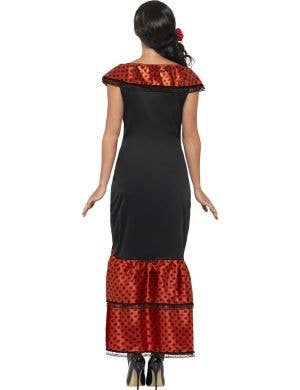 Spanish Senorita Women's Flamenco Dancer Costume