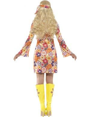 1960's Flower Hippie Women's Costume