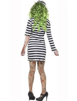 Jail Bird Zombie Women's Halloween Costume