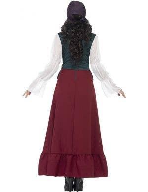 Buccaneer Beauty Deluxe Women's Pirate Fancy Dress Costume