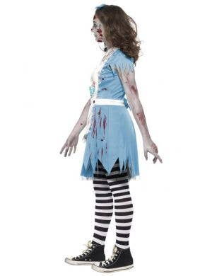 Zombie Tea Party Alice Teen Girl's Halloween Costume