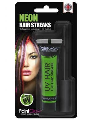 Hair Mascara UV Reactive Special Effects - Neon Green