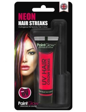 Hair Mascara UV Reactive Special Effects - Neon Pink