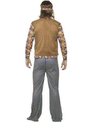 Woodstock 60's Men's Hippie Singer Costume