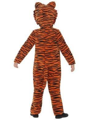 Jungle Tiger Kids Jumpsuit Costume