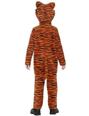 Jungle Tiger Kids Jumpsuit Costume