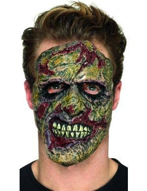 Zombie Head Prosthetic Halloween Costume Accessory