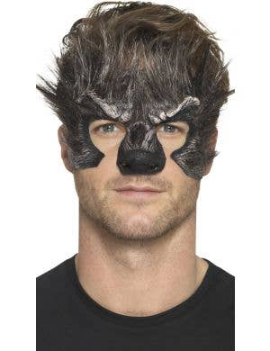 Werewolf Head Prosthetic Halloween Costume Accessory