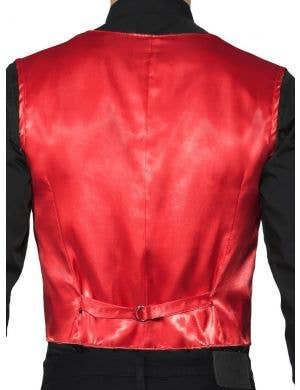 Showman Red Sequin Dress Up Costume Vest