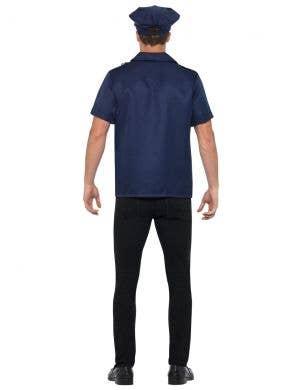 Navy Blue US Cop Uniform Men's Costume